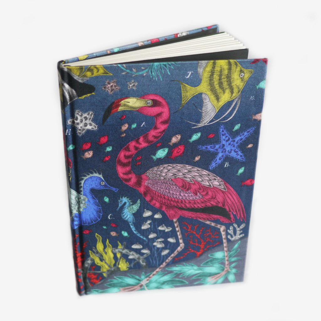 Sustainably made notebook for an animal lover with undersea design.