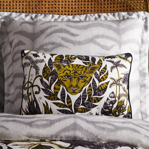 The Amazon boudoir pillowcase features the magical Amazon design hand drawn by Emma J Shipley