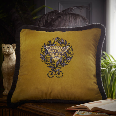 Amazon Velvet Cushion