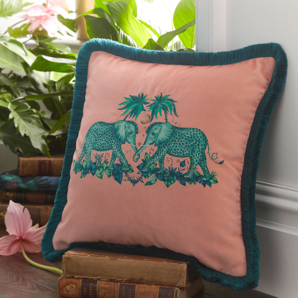 Zambezi Velvet Cushion