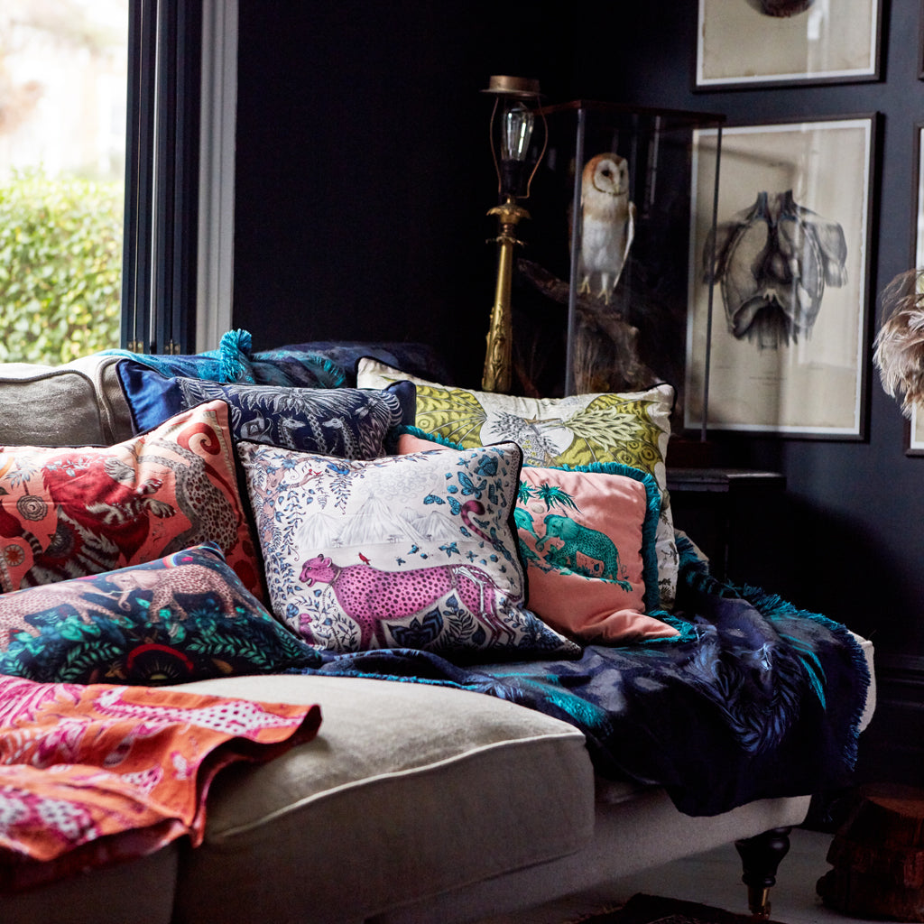 *PRE-ORDER* Kruger Jacquard Woven Cushion
