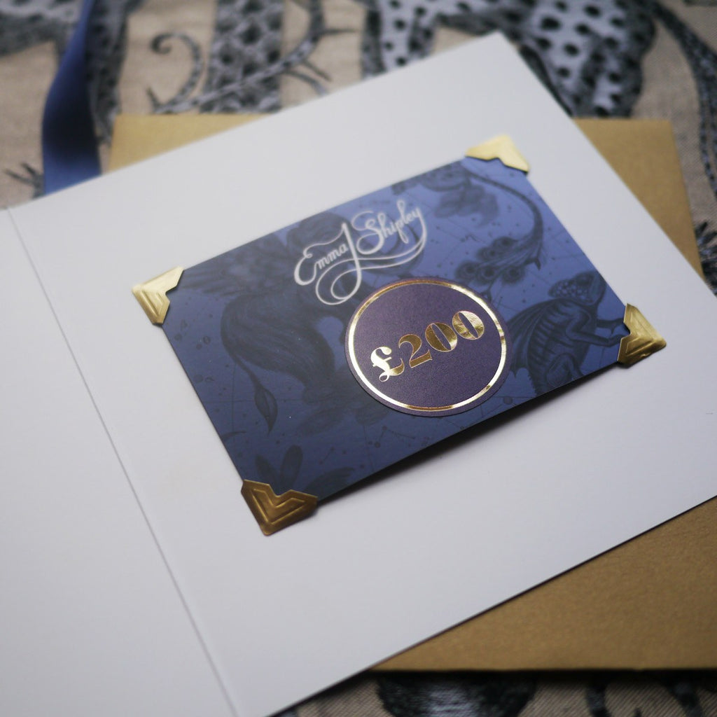 Shopping for someone else but not sure what to get them? Give them the gift of choice with an Emma J Shipley Gift Card.