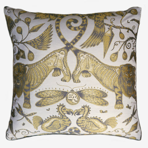 Extinct Jacquard Woven Cushion