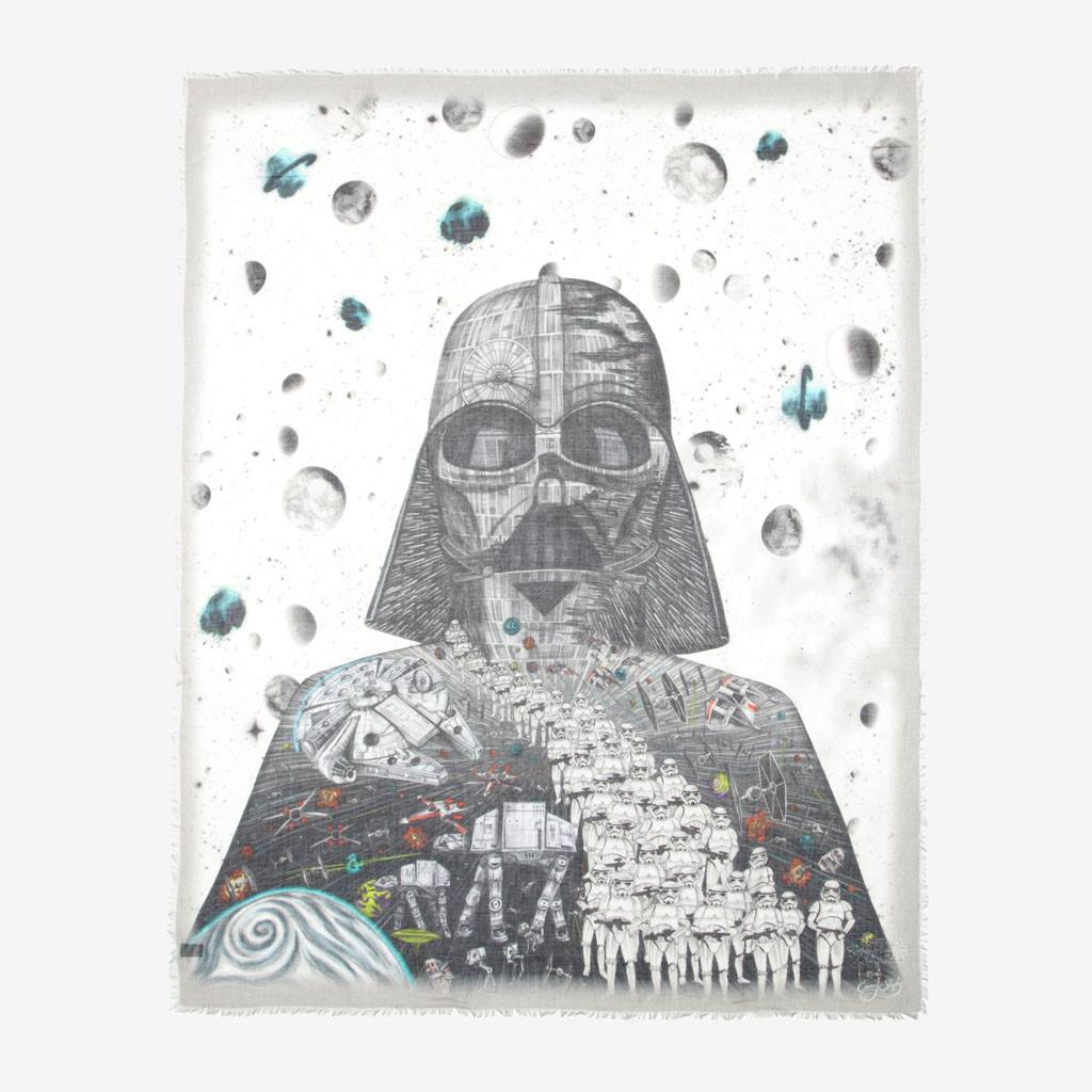 Beautiful star wars fine art scarf by emma j shipley
