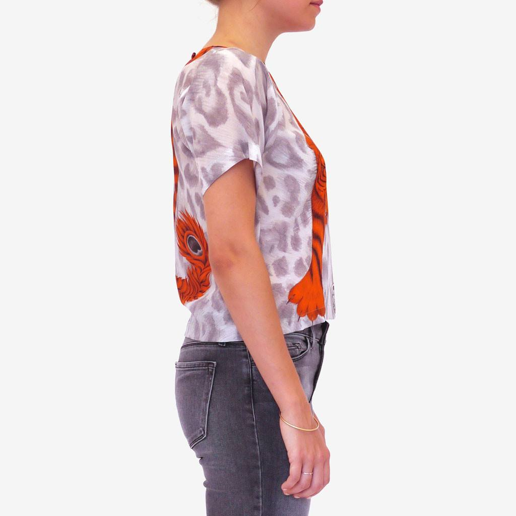 Tigris Silk T-Shirt