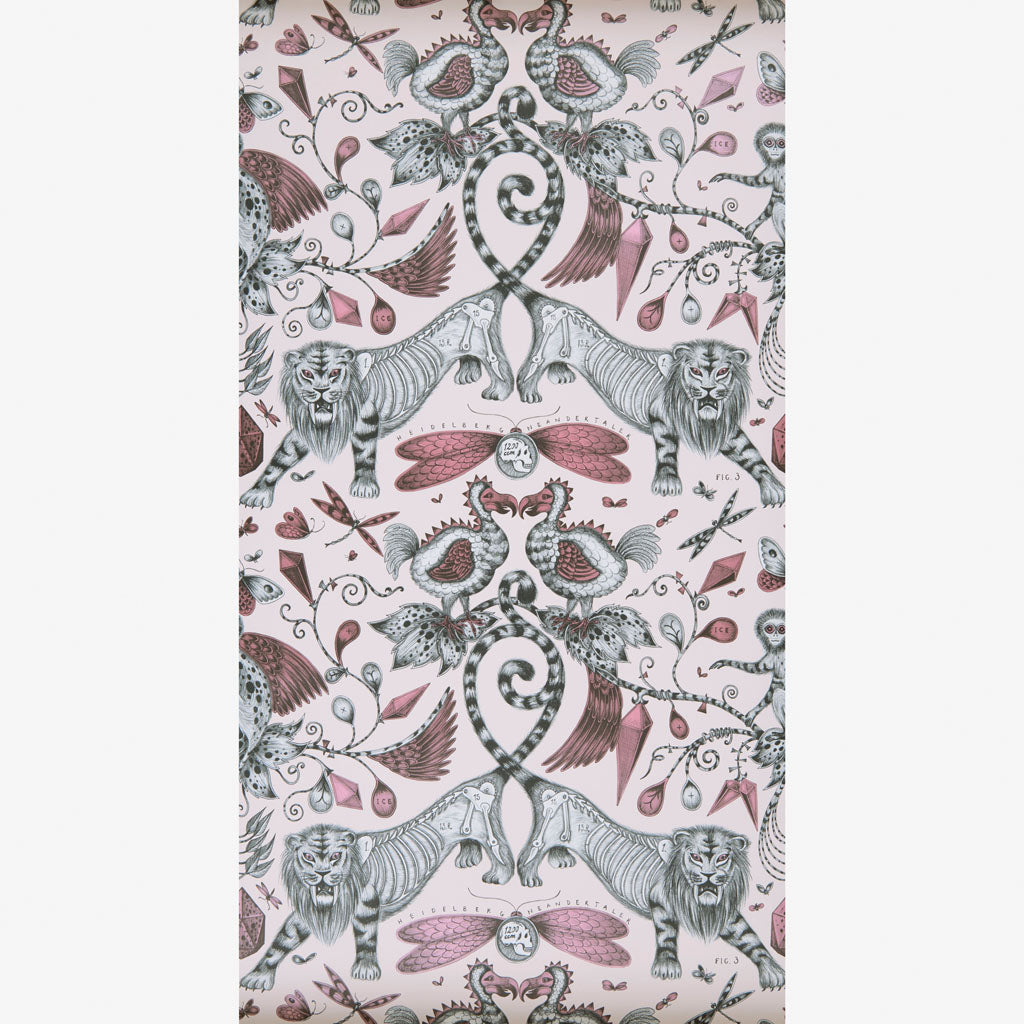 Extinct wallpaper designed by Emma J shipley x Clarke & Clarke
