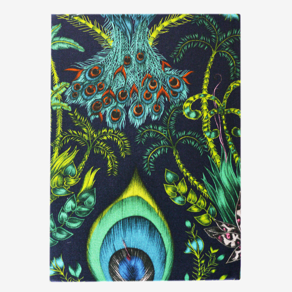 The stunningly luxurious Emma J Shipley Green Amazon Silk Notebook