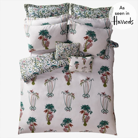 Jungle Palms Duvet Cover