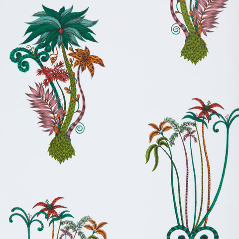 The beautiful Jungle Palms wallpaper by Emma J Shipley x Clarke & Clarke