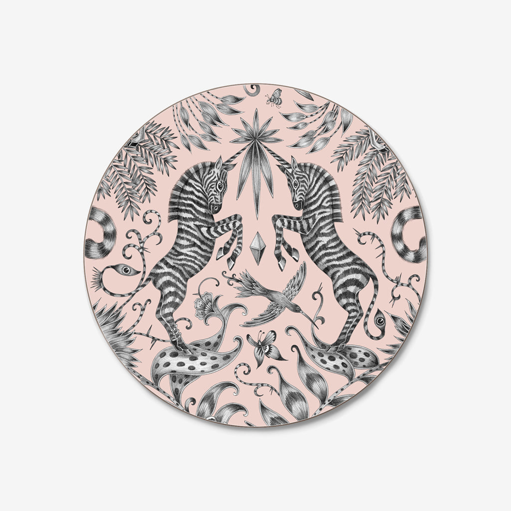 Jamida and Emma J Shipley created the Kruger coasters, featuring a hand drawn design by Emma J Shipley of a safari adventure