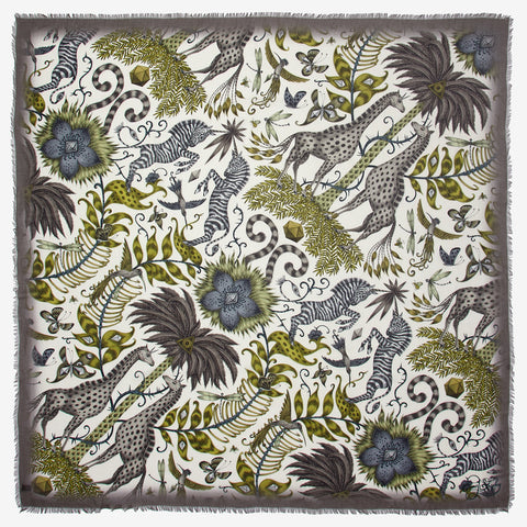 The Kruger Modal Blend scarf in golden yellow will take you back to the magical land of safari.