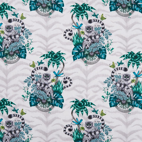 *PRE-ORDER* Lemur Cotton Satin Fabric