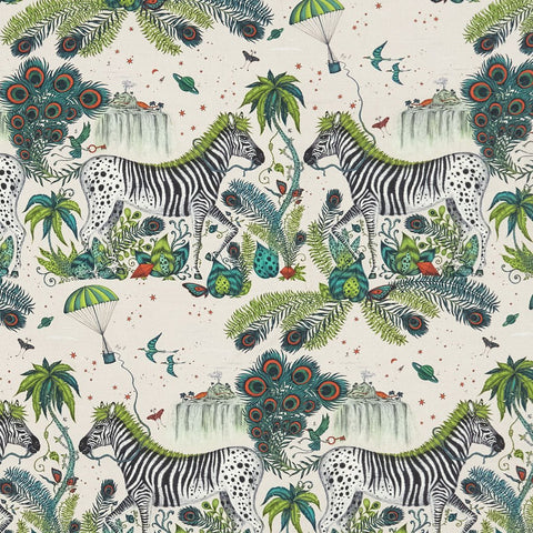 Lost World Linen Fabric
