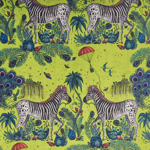 Lost World Velvet Fabric