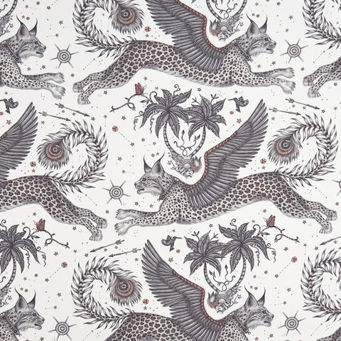 Lynx Cotton Satin Fabric