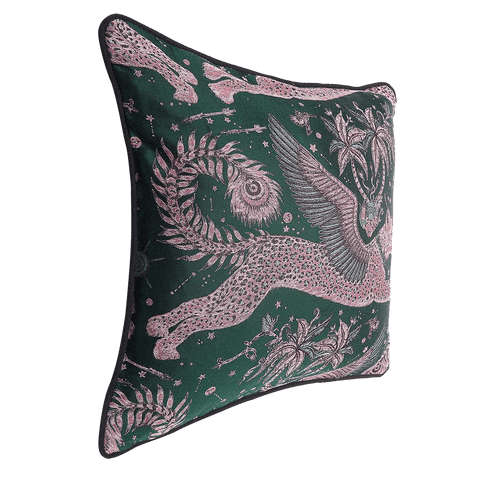 Lynx Jacquard Cushion