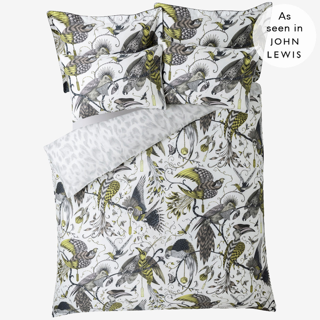 The Audubon Duvet Cover is part of our magical bedding collaboration with interior experts Clarke & Clarke and made exclusively with John Lewis. This design is inspired by the work of botanical illustrator John James Audubon