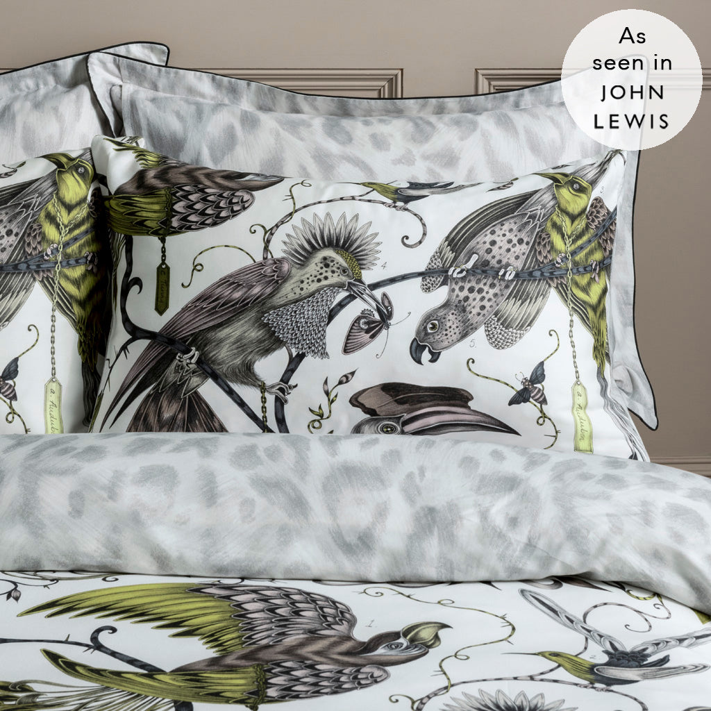 Guaranteed to transform your bedroom into a jungle paradise, the Audubon Standard Pillowcases are the perfect way to complete your bedding of dreams