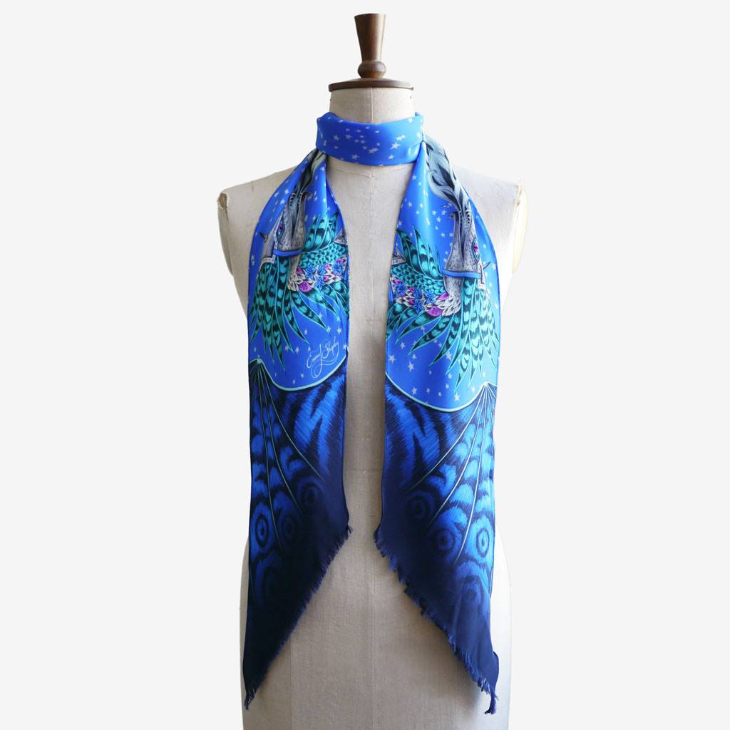 Emma J Shipley Mythical scarf collection
