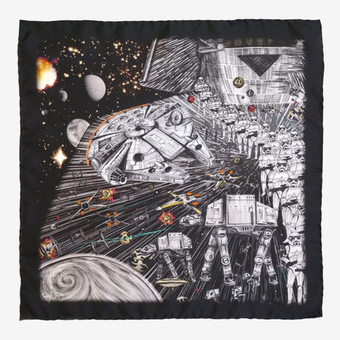 Emma J Shipley Star Wars Darth Vader Pocket Square