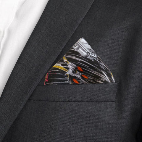 Millennium Falcon Pocket Square