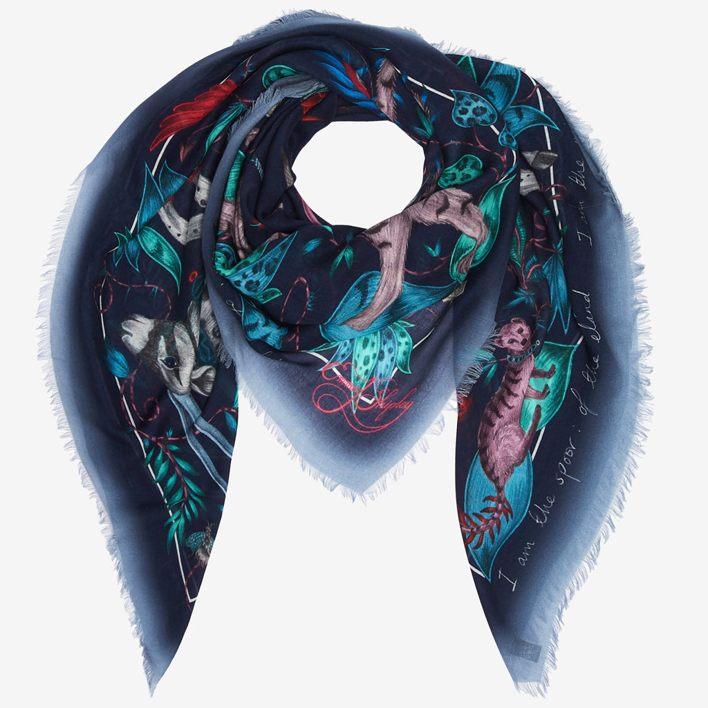 How to style a Modal Blend scarf, designed by Emma J shipley.