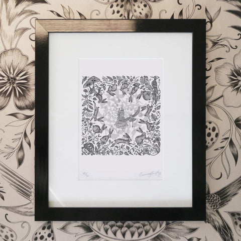Frith Mini Print - Black Frame