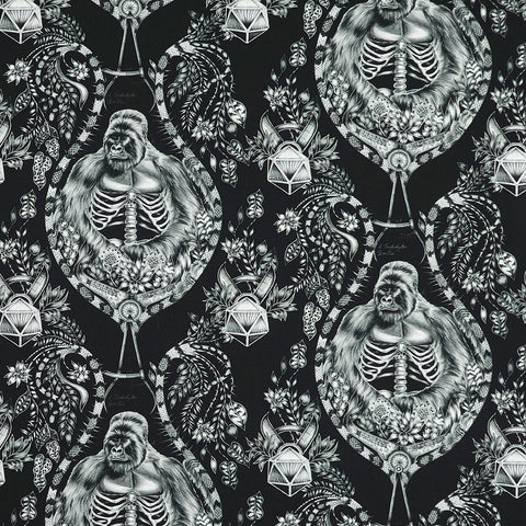 Silverback Cotton Satin Fabric