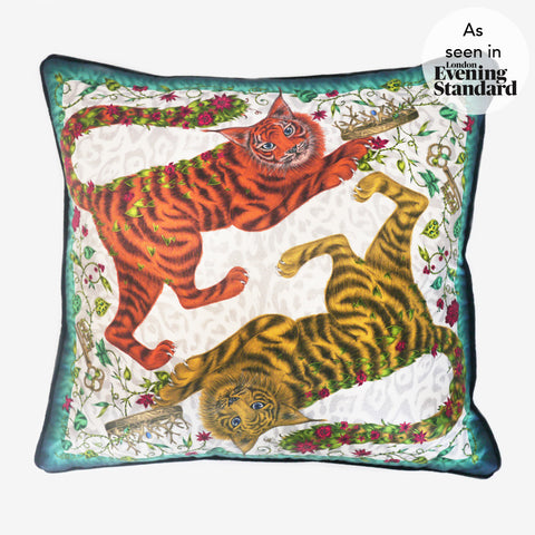 The Emma J Shipley Shadowcats Cushion was seen in the London Evening Standard newspaper.