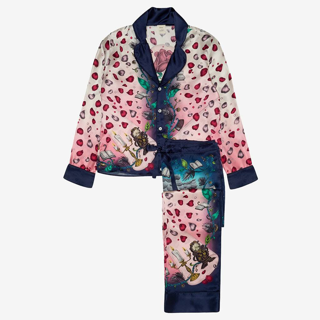 ***PRE-ORDER*** Beauty and the Beast Silk Pyjama Set