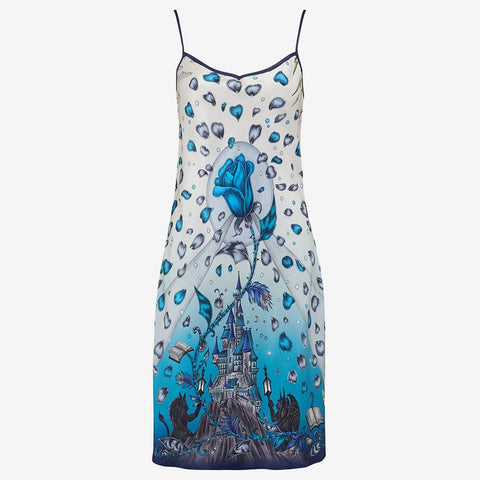 ***PRE-ORDER*** Beauty and the Beast Silk Slip Dress