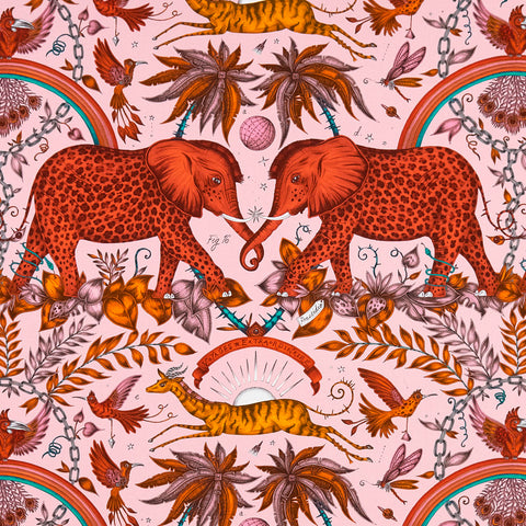 Zambezi Cotton Satin Fabric