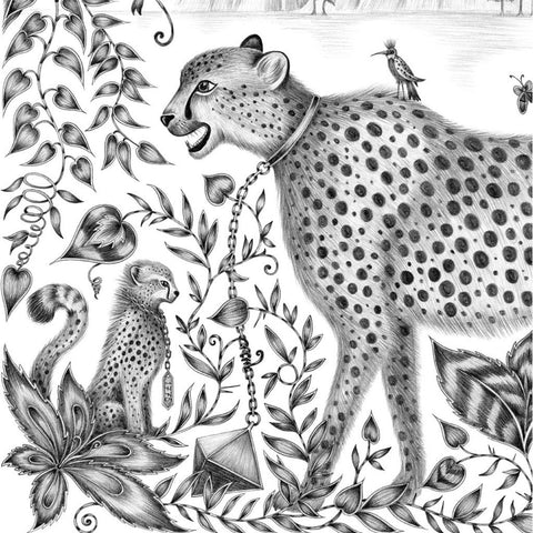 Cheetah Large Print