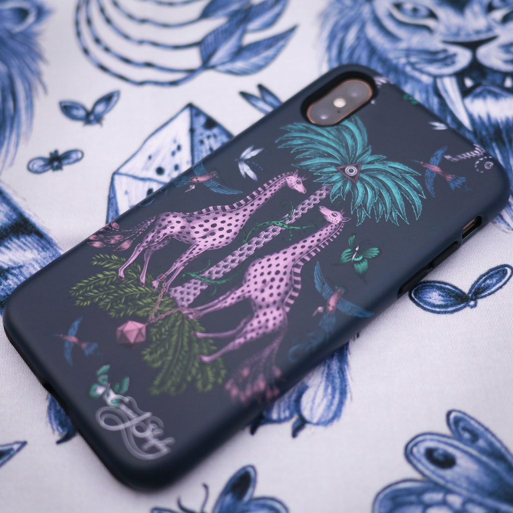 The Kruger Phone Case bringing animal magic to the everyday, designed by Emma J Shipley