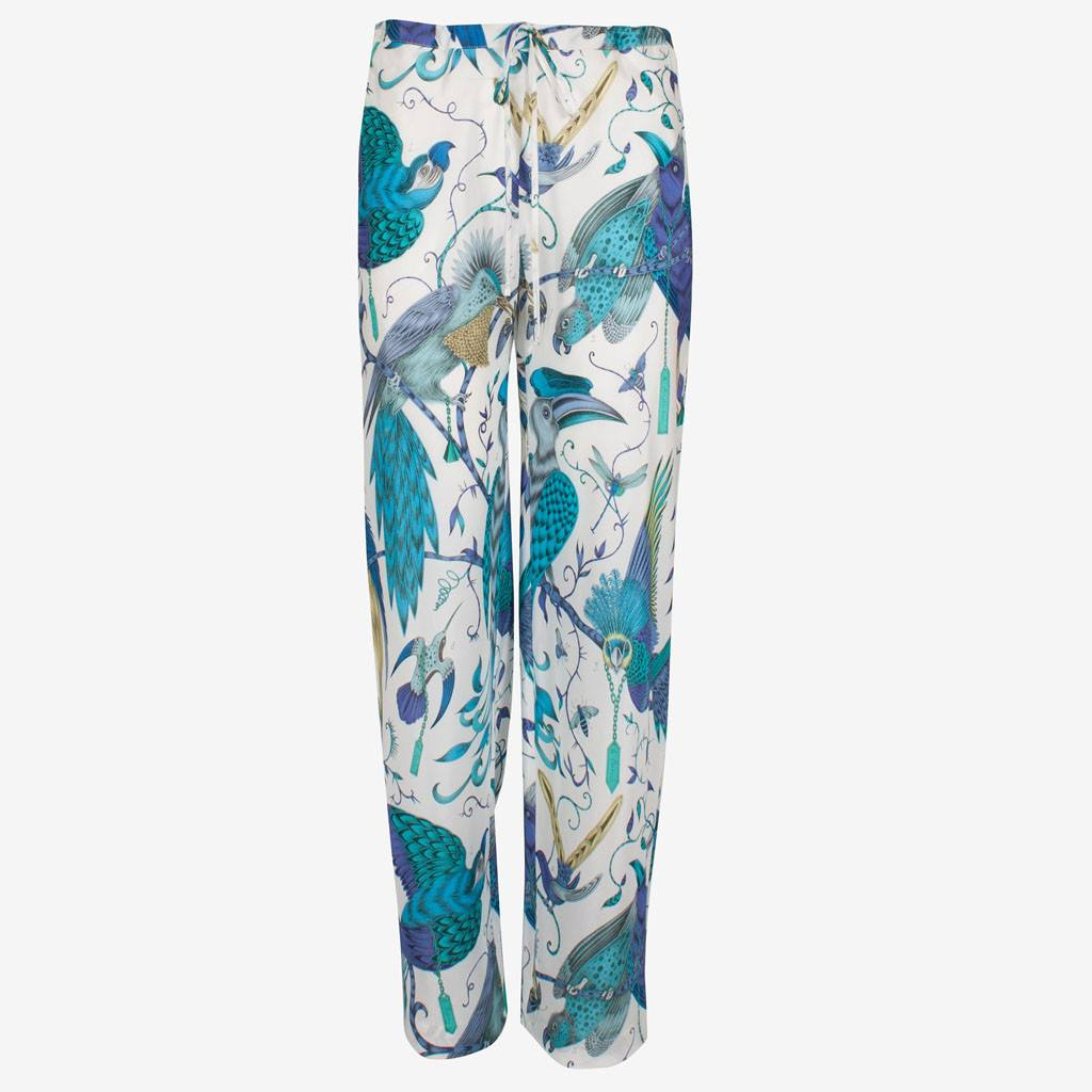 Audubon Silk Trousers