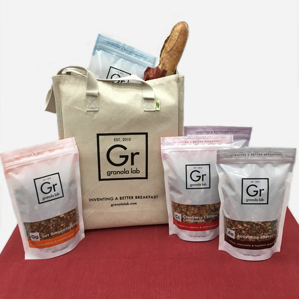 Granola Variety Set + Tote Bag