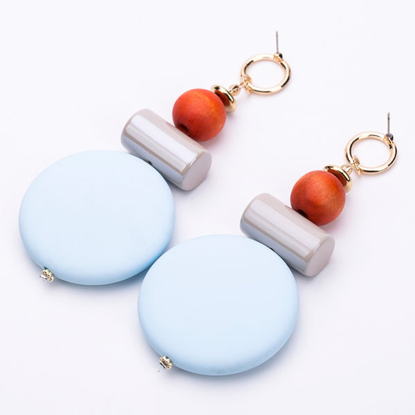 Geo Shaped Dangle Earrings