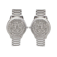 Watch Stud Earrings