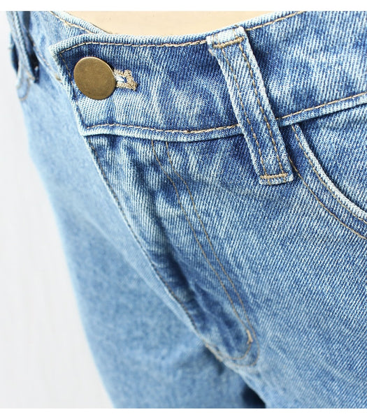 High Waist Regular Jeans