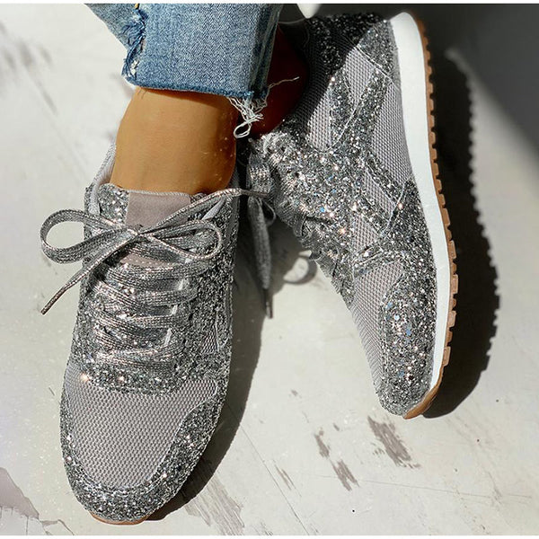 All About The Glitter Sneakers