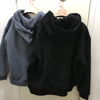 Hooded Zippered Back Sweatshirt