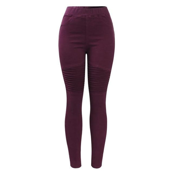Ridged Knee Jeggings