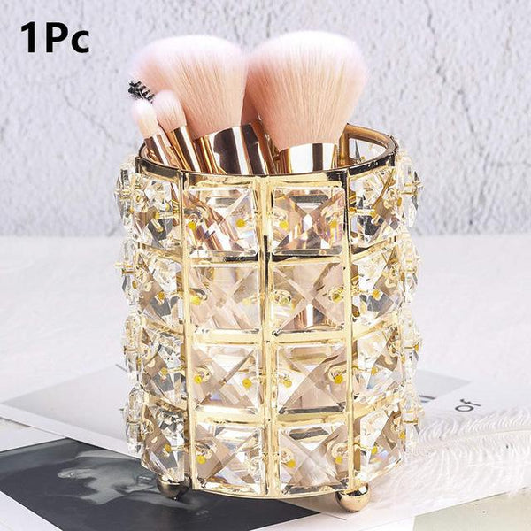 Crystal Storage Organizer (MAKEUP BRUSHES NOT INCLUDED)