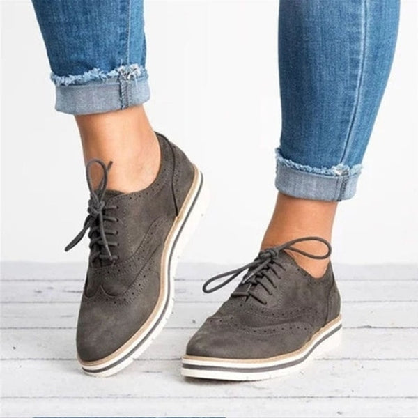 Oxford Style Casual Sneakers