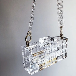 Nothing But Transparency Shoulder Bag