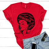 Powerful Gifted Queen T-Shirt