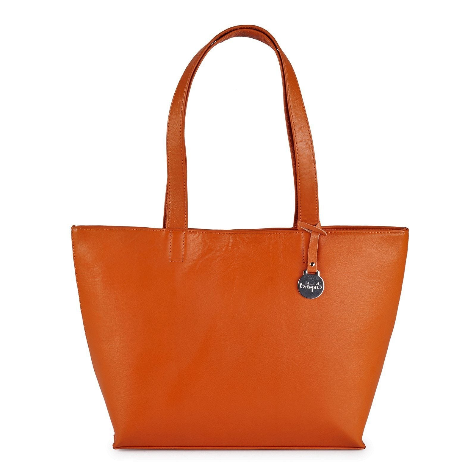 Style Iceland i orange. Stor shopper i et enkelt, klassisk design - Octopus Denmark