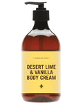 Desert Lime & Vanilla Body Cream