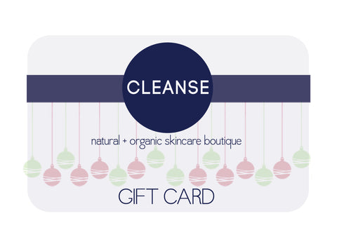 Cleanse Skincare Gift Card
