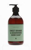 Sweet Orange & Cedarwood Handsoap